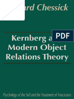 Kernberg and Modern Object Relations Theory