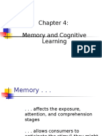 Chapter 4 Memory & Learning