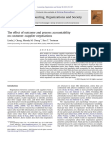 The effect of outcome and process accountability on customer–supplier negotiations