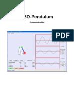 D3D Pendulum - Johannes Fackler