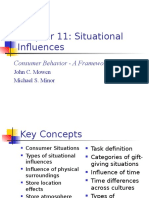 Chapter 11-Situational Influences