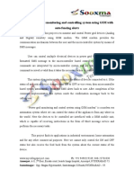 Power Grid Devices Monitoring and Control System Using GSM With Auto Fncing