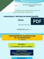 Paradigmas en Investigación SESION 2 UCV SJL