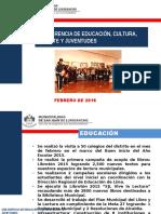 PRESENTACIÓN DE LA  SGECDJ  - UGEL 05 2016.pptx