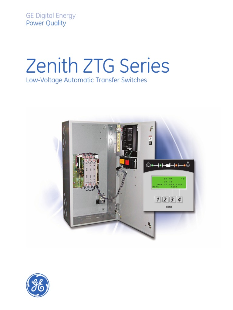Zenith Automatic Transfer Switch Wiring Diagram Library For Winco Generators Asco 100 Switches Document Generator Ztg Series Amplifier