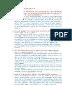 El Drenaje Pluvial de Juliaca - Preguntas