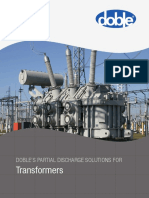 Doble PD Transformers Brochure