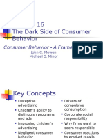 Chapter 16-Dark Side of Consumer Behaviour