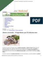 Jabones Artesanales _ 10 Ingredientes Que NO Deberían Tener _ La Planta Medicinal
