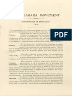 Founding Documents of the Niagara Movement