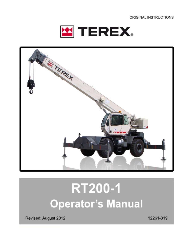 rt200 1 manual operator crane machine wound rh es scribd com