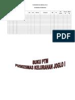 Format Buku PTM