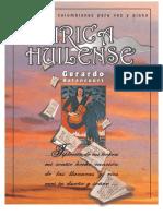 LIRICA HUILENSE. 22 Canciones Colombianas para voz y piano.
