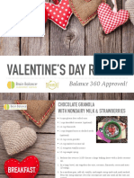 Balance 360 Approved Valentine's Day Recipes