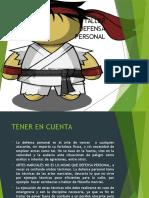 Presentación Defensa Personal
