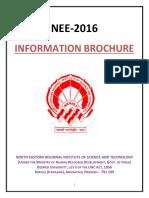 Information Brochure_NEE 2016
