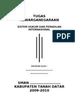 KWN - Sistem Hukum Dan Peradilan