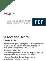 TEMA 5 . Accesión y Alumnos