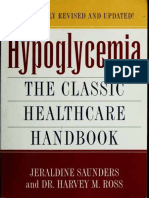 Hypoglycemia the Classic Healthcare Handbook Completely