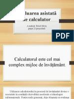Evaluarea Asistată de Calculator