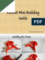 Kossel Mini Building Guide