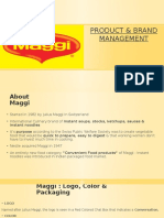 presentation on Maggi