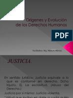 Evolución Histórica de Los Derechos Humanos.