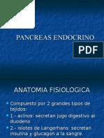 Endocrinologia del Pancreas