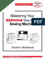 Mastering Your Bernina 220 230PE 240 440QE 630 640 730