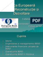 Banca Europeană Pentru Reconstrucție Și Dezvoltare