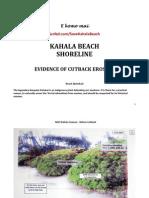 2008-2010 Kahala Beach Erosion Documentation
