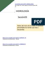 2015-1 Hidrol Semana 02 Cuencas