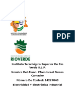 Vespertino 1 Ing. Industrial Efren Israel Torres Camacho 14227048