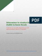 13 Déterminer Le Résultat Fiscal Et Établir La Liasse Fiscale
