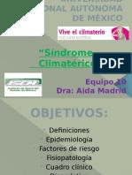 Sx Climaterico