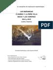 Memoria Campañas Peñe Villa y Llabres - Las Mañangas - Buda y Las Xareras, 2014 y 2015