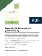 Booknología- El Libro Digita