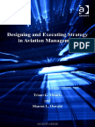 Design Strategy in Aviation Management