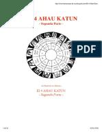 El 4 Ahau Katun - Segunda Parte