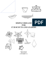 Make Your Own Origami Models