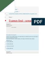 Examen y Quiz Costos y Presupuestos