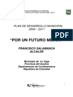 Plan de Desarrollo Municipal La Vega