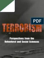 Terrorism_perspectives From Behavior and Social Sciencies