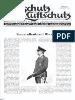 Gasschutz Und Luftschutz 1936 Nr.6 Juni