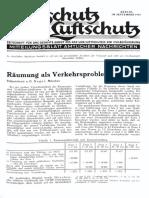 Gasschutz Und Luftschutz 1936 Nr.9 September
