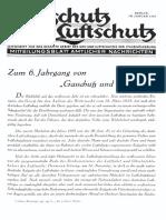 Gasschutz Und Luftschutz 1936 Nr.1 Januar