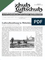 Gasschutz Und Luftschutz 1936 Nr.11 November