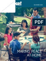 Making Peace at Home