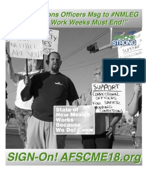 Save New Mexico Corrections | American Federation Of State