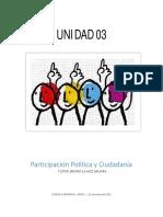 Unidad 03 Participacion Ciudadana